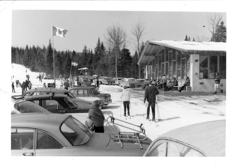 Photo du chalet de Vallée Bleue en 1963