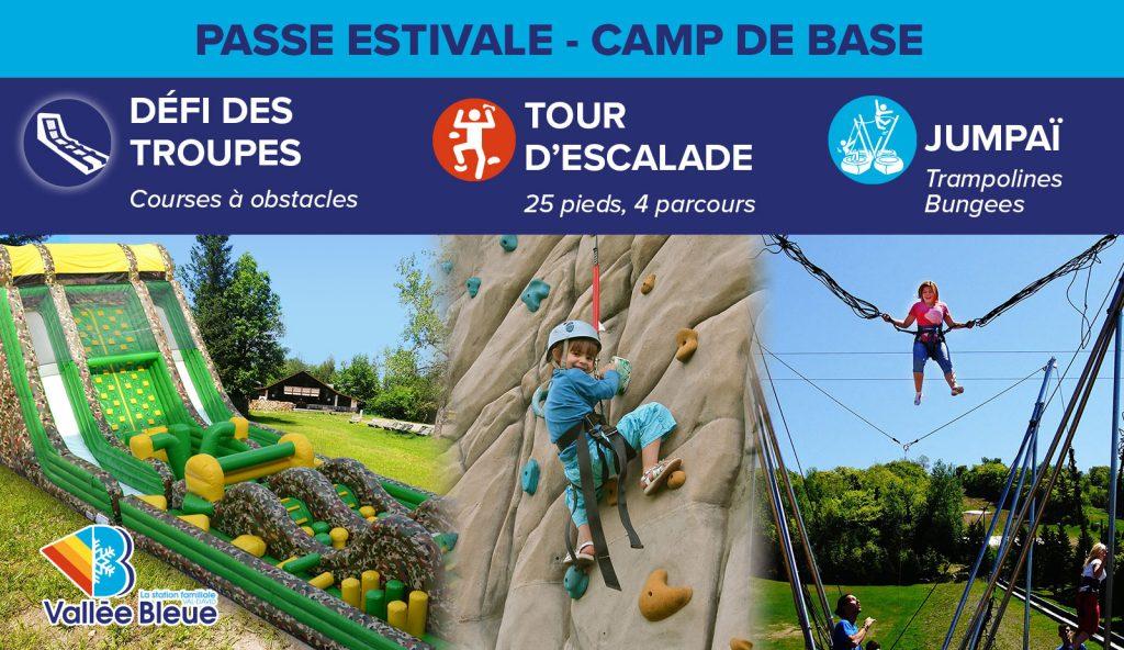 Activités d'été en famille dans les Laurentides - Passe camp de base